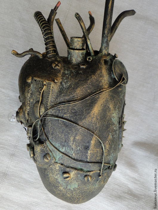Персональные подарки ручной работы. Ярмарка Мастеров - ручная работа. Купить Сердце для железного дровосека. Handmade. Стимпанк, шестерёнки