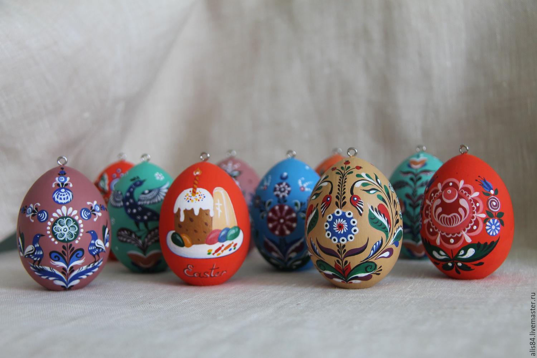 Росписи по пасхальному яйцу