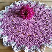 Для дома и интерьера ручной работы. Ярмарка Мастеров - ручная работа Салфетка розовая. Handmade.