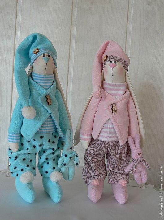 Куклы Тильды ручной работы. Ярмарка Мастеров - ручная работа. Купить Сплюшки. Handmade. Сплюхи, подарок новорожденному, розовый, холофайбер