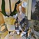 Куклы Тильды ручной работы. Ярмарка Мастеров - ручная работа. Купить Тильда Есения. Handmade. Кукла ручной работы, хлопок