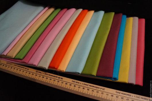 Шитье ручной работы. Ярмарка Мастеров - ручная работа. Купить Набор тканей  для пэчворка  хлопок 100 %  Радужный. Handmade.