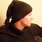 Аксессуары handmade. Livemaster - original item Knitted hat-stocking. Handmade.