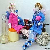 Куклы и игрушки ручной работы. Ярмарка Мастеров - ручная работа Тильды банные ангелы (семейные). Handmade.