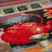 """Картины и панно ручной работы. Ярмарка Мастеров - ручная работа Триптих """"Азиатская чайная церемония"""". Handmade."""