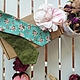 Галстуки, бабочки ручной работы. Заказать Двусторонняя галстук-бабочка Зеленый сад. Самовяз.. SunMarines. Ярмарка Мастеров. На праздник