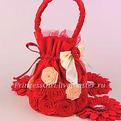 Работы для детей, handmade. Livemaster - original item Handbag elegant Gloria. Handmade.