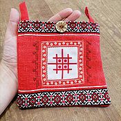 Русский стиль handmade. Livemaster - original item Lukomnik. Rune