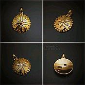 Фен-шуй и эзотерика handmade. Livemaster - original item Agiskhjalm with a shamanic mirror. Handmade.