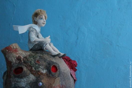 Коллекционные куклы ручной работы. Ярмарка Мастеров - ручная работа. Купить Маленький принц. Handmade. Бежевый, авторская кукла, волшебство