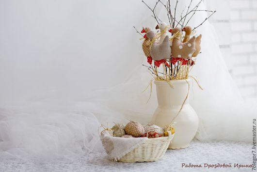 Куклы Тильды ручной работы. Ярмарка Мастеров - ручная работа. Купить Пасхальные уточки.Интерьерная композиция в стиле Тильда.. Handmade.
