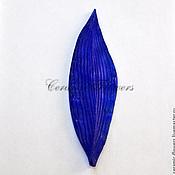 Материалы для творчества handmade. Livemaster - original item The texture of the leaf of a Tulip. Handmade.