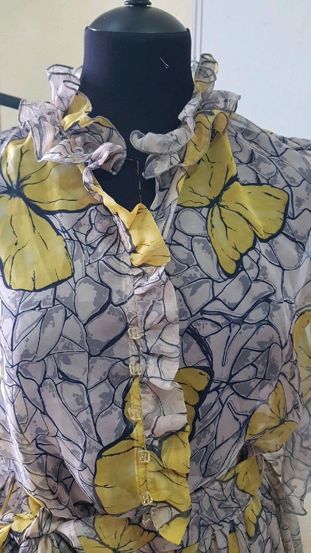 Платья ручной работы. Ярмарка Мастеров - ручная работа. Купить Шифоновое платье. Бабочки. Handmade. Платье, платье Воздушное