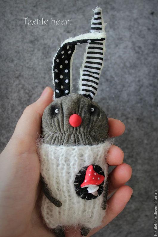 Коллекционные куклы ручной работы. Ярмарка Мастеров - ручная работа. Купить Мухоморный заяц. Handmade. Заяц, клоун кукла, страшилки