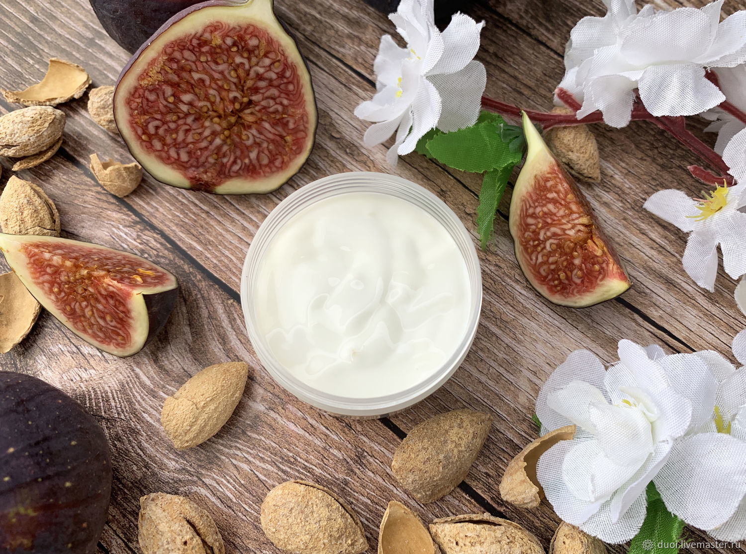 Face cream with fig seed oil, Creams, Moscow,  Фото №1