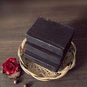 Косметика ручной работы. Ярмарка Мастеров - ручная работа Горький шоколад натуральное мыло с нуля шоколадное мыло. Handmade.