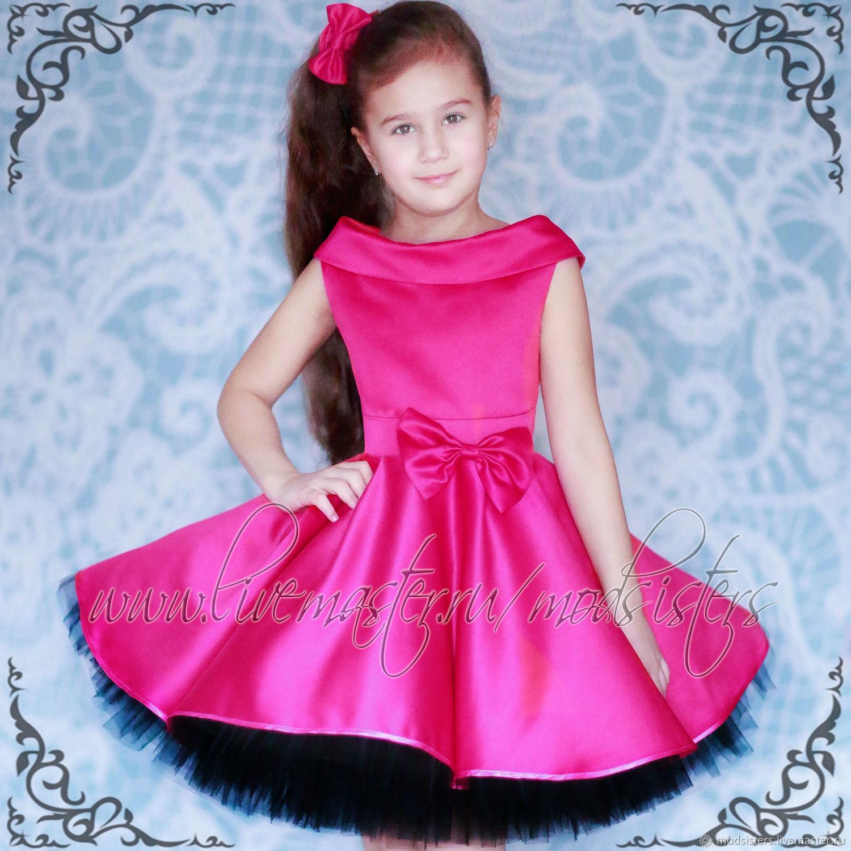 Children's dress 'Amorous strawberry' Art.-500, Childrens Dress, Nizhny Novgorod,  Фото №1