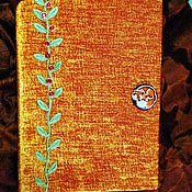 Канцелярские товары ручной работы. Ярмарка Мастеров - ручная работа Лисий блокнот-2. Handmade.