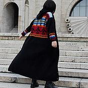 Одежда handmade. Livemaster - original item cardigans: Black Hooded Eagle Cardigan. Handmade.