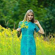 """Одежда ручной работы. Ярмарка Мастеров - ручная работа """"Благородство вышивки""""  платье для Леди. Handmade."""