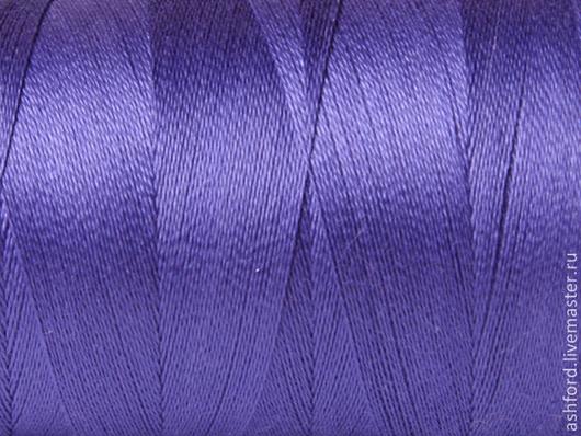 Другие виды рукоделия ручной работы. Ярмарка Мастеров - ручная работа. Купить Нитки для ткачества Хлопковые - лиловый.. Handmade. Лиловый