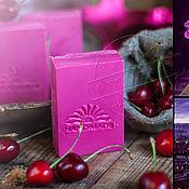 """Косметика ручной работы. Ярмарка Мастеров - ручная работа Натуральное мыло """"Cherry&Sugar"""". Handmade."""