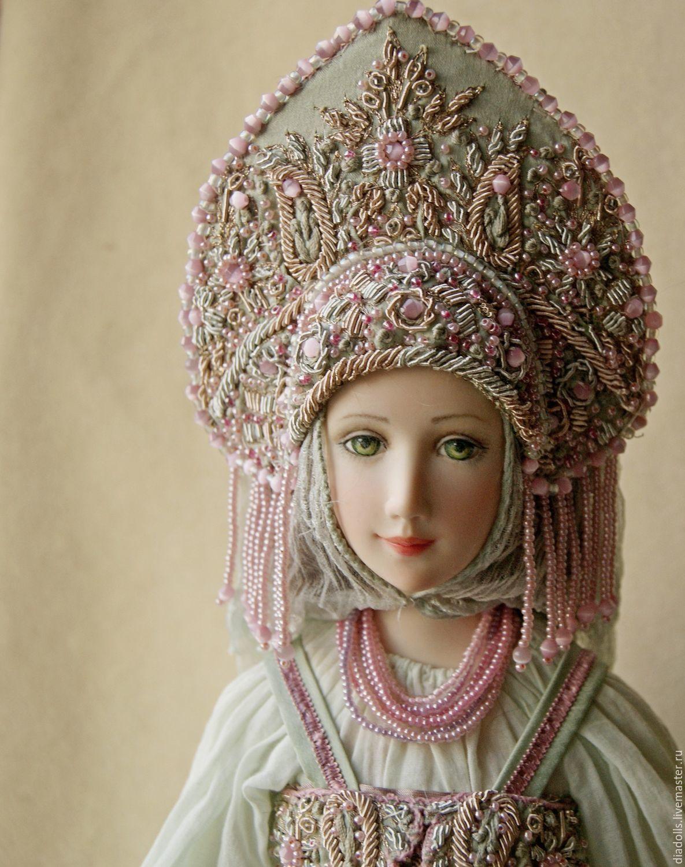Коллекционные куклы ручной работы. Ярмарка Мастеров - ручная работа. Купить Авторская кукла ,,Анастасия,,. Handmade. Кукла, шёлковый бархат