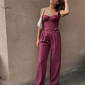 Одежда handmade. Livemaster - original item Corsets: Corset trousers