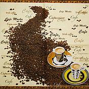 Материалы для творчества handmade. Livemaster - original item 10pcs napkins decoupage coffee cappuccino with Americano. Handmade.