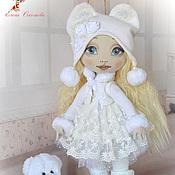 Куклы и игрушки ручной работы. Ярмарка Мастеров - ручная работа Ася с мишкой. Handmade.