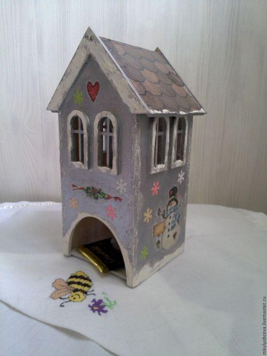 Чайные домики.Прекрасный и оригинальный подарок  украсит любое чаепитие и создаст теплую атмосферу уюта в доме