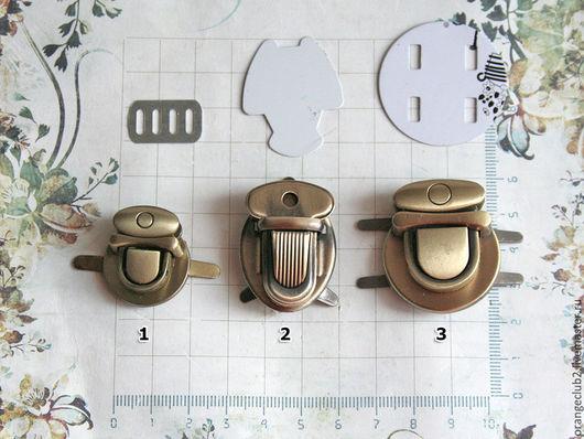 Другие виды рукоделия ручной работы. Ярмарка Мастеров - ручная работа. Купить Застежка для сумки. Handmade. Фурнитура для сумок, металл