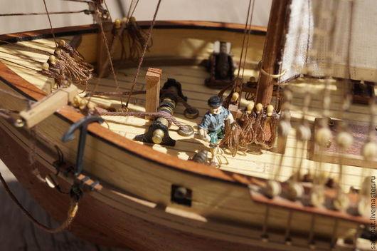 """Подарки для мужчин, ручной работы. Ярмарка Мастеров - ручная работа. Купить модель корабля """"Albatros"""". Handmade. Корабль, модель"""
