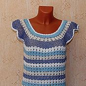 """Одежда ручной работы. Ярмарка Мастеров - ручная работа платье """"в морском стиле"""". Handmade."""