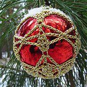 """Подарки к праздникам ручной работы. Ярмарка Мастеров - ручная работа """"Ажурное чудо"""" вязаные шары. Handmade."""