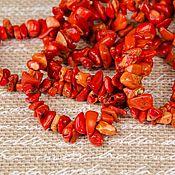 """Материалы для творчества ручной работы. Ярмарка Мастеров - ручная работа Каменная крошка """"Коралл оранжевый"""". Handmade."""