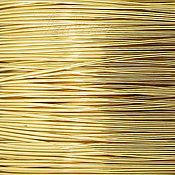 Проволоки ручной работы. Ярмарка Мастеров - ручная работа Проволока Gold Filled 0.33мм мягкая золотая Beadsmith (США) 0.5м. Handmade.