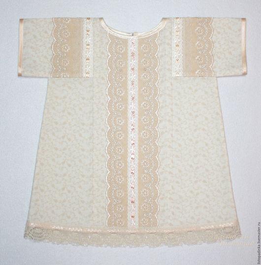`Ореховый Спас` - крестильное платье для девочки. Сентябрь 2016.