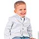 """Одежда для мальчиков, ручной работы. Ярмарка Мастеров - ручная работа. Купить Костюм для мальчика """"Серебрянный принц"""". Handmade. Серебряный"""