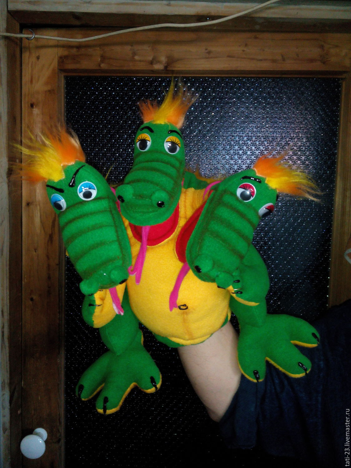 The Serpent-Dragon.Doll glove, Puppet show, Voronezh,  Фото №1