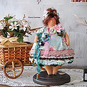 Куклы Тильда ручной работы. Ярмарка Мастеров - ручная работа Толстушка Фотографиня.. Handmade.