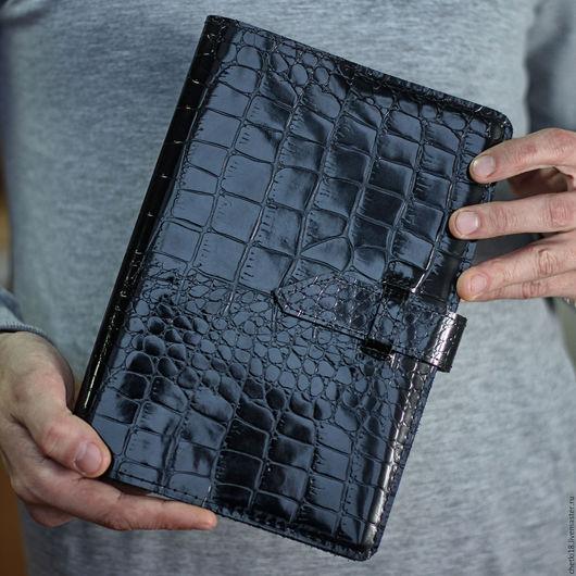 """Подарки для мужчин, ручной работы. Ярмарка Мастеров - ручная работа. Купить Ежедневник """"Крокодил"""" А5. Handmade. Ежедневник ручной работы"""