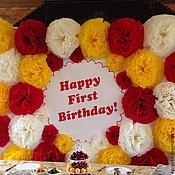 Подарки к праздникам ручной работы. Ярмарка Мастеров - ручная работа День рождения в стиле Микки и Мини Мауса. Handmade.