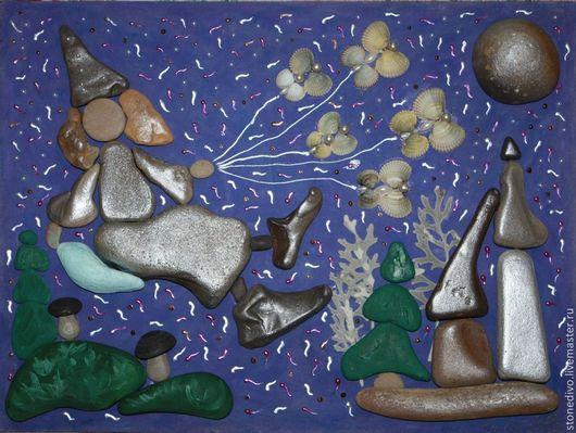 """Фэнтези ручной работы. Ярмарка Мастеров - ручная работа. Купить Картина """"Дивна Сказка"""". Handmade. Тёмно-фиолетовый, неповторимо"""