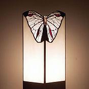 Для дома и интерьера handmade. Livemaster - original item Lamp Butterfly. Tiffany table lamp. Stained glass lamp. Handmade lamp. Handmade.