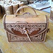 Сумки и аксессуары handmade. Livemaster - original item Handbag made of birch bark. Summer handbag. Shoulder bag. Handmade.