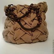 Аксессуары ручной работы. Ярмарка Мастеров - ручная работа сумка вязаная. Handmade.