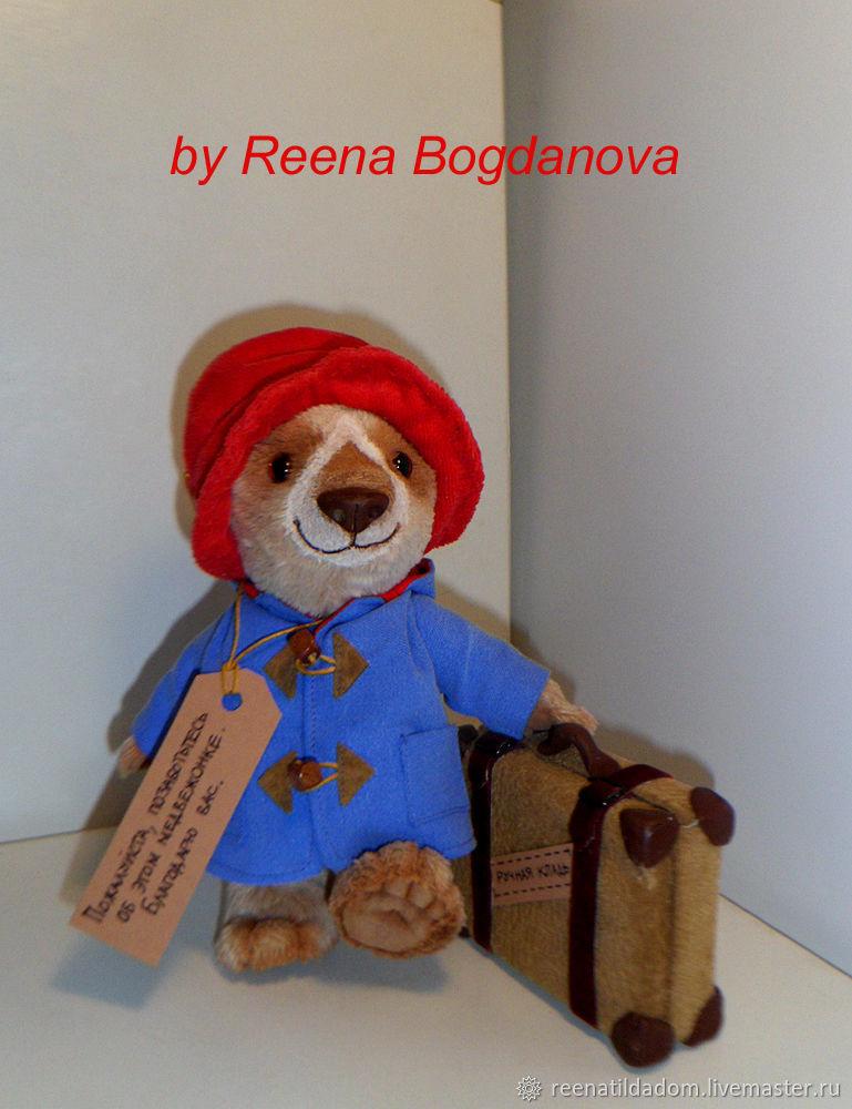 Медвежонок-путешественник, Мягкие игрушки, Воронеж,  Фото №1