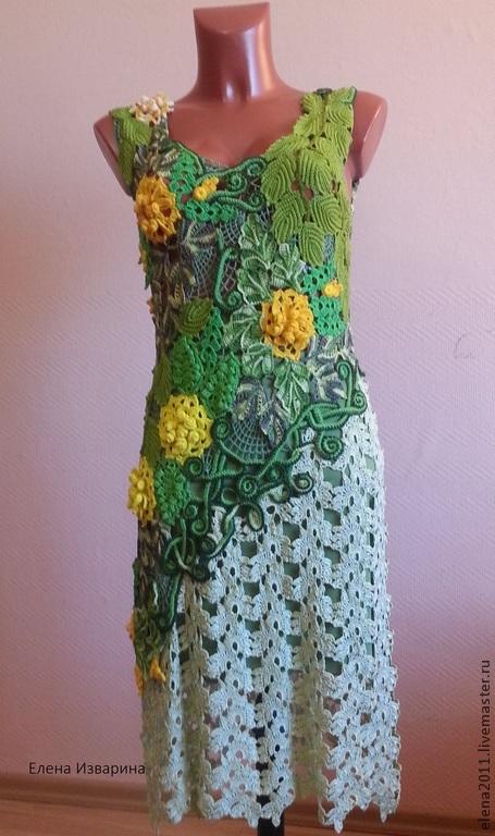 Платье `Шорох листвы`