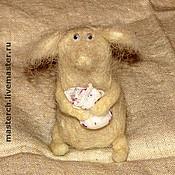 """Куклы и игрушки ручной работы. Ярмарка Мастеров - ручная работа Мышонок """"Пафнутий"""". Handmade."""
